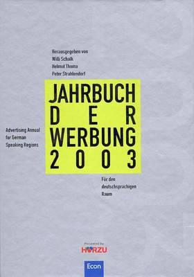 Jahrbuch der Werbung 2003   Auszeichnungen