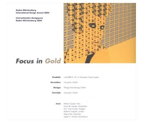 Internationaler Design Award 2004   Auszeichnungen