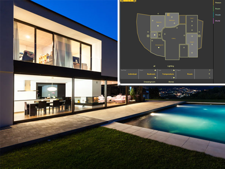 Smart Home Automation by visiomatic International