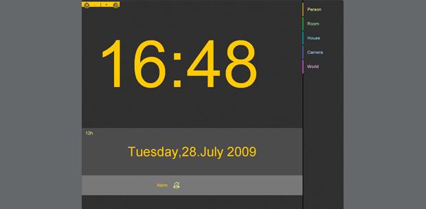 Zeit & Datum   Infotainment   Home System by visiomatic International