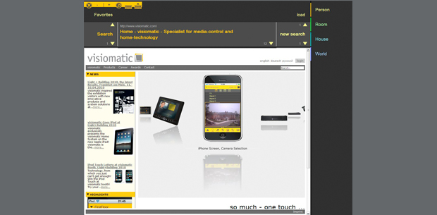 Infotainment   Home System by visiomatic International